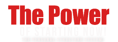 The Power Of Starting Now | The Personal Structure System
